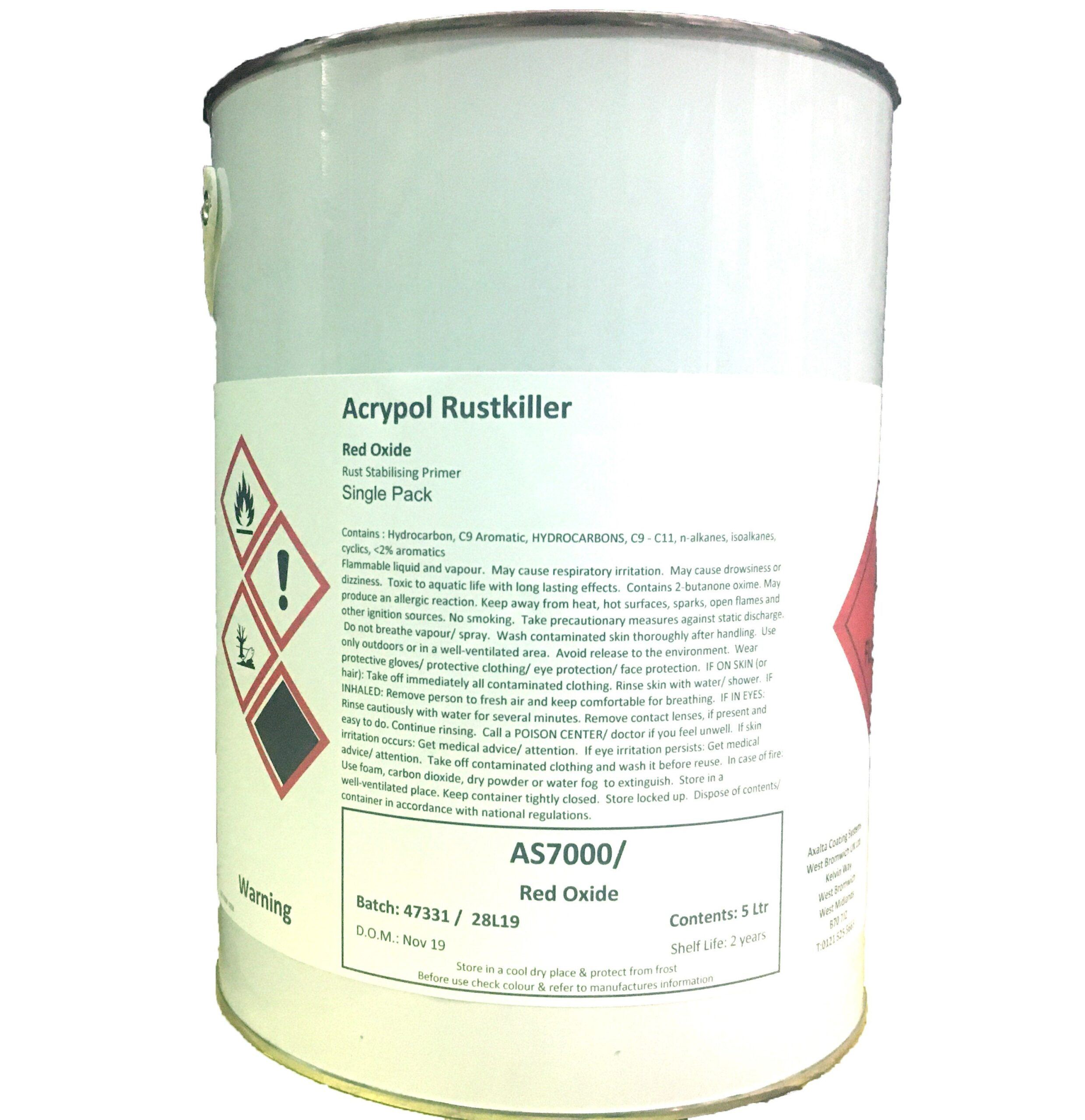 Acrypol Rust Killer 5ltr