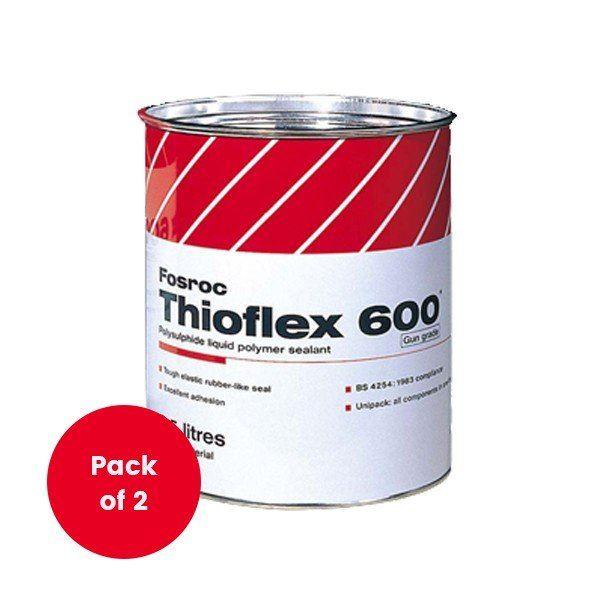Thioflex 600 Gun Grade Sealant 2.5L