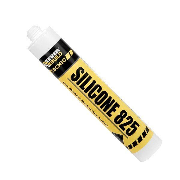 Everbuild Silicone 825 LM 380ml - Next Day Express Delivery!