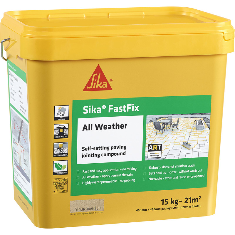 Sika FastFix All Weather Jointing Compound - 15kg
