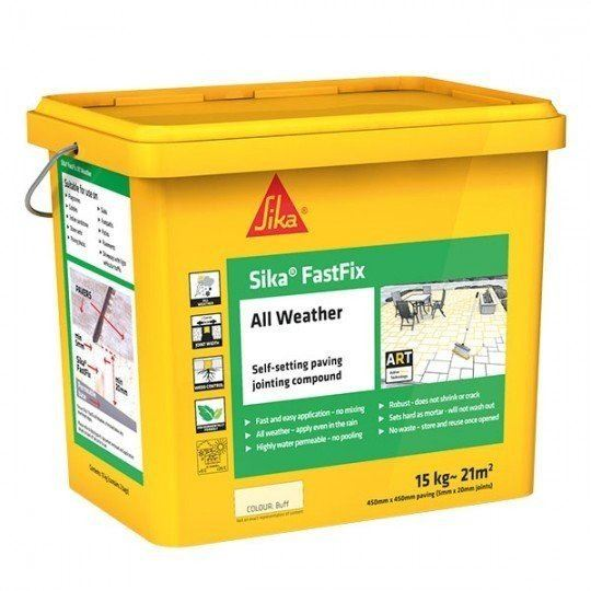 Sika FastFix - All Weather Jointing Compound - Dark Buff