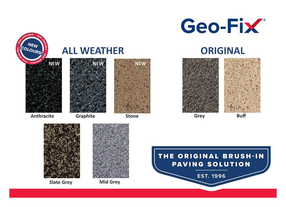 Geo-Fix Colour Swatch
