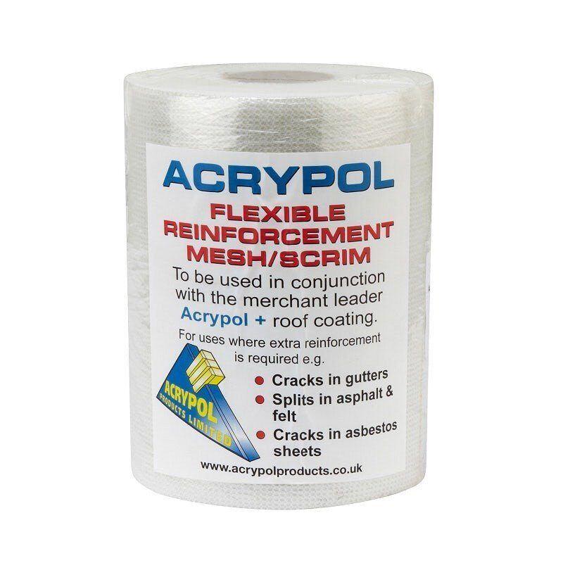 Acrypol Flexible Reinforcement Mesh / Scrim – 150mm x 20m