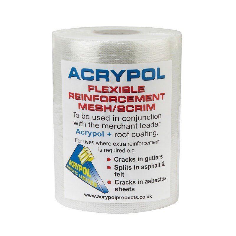 Acrypol Flexible Reinforcement Mesh / Scrim - 150mm x 20m