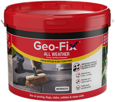 Geo Fix All Weather Anthracite 14kg - Next Day Express Delivery